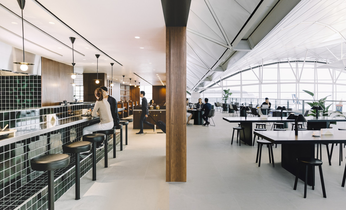 Arrive Early at The Deck: Cathay Pacific's new lounge experience at HKIA opens 22 March