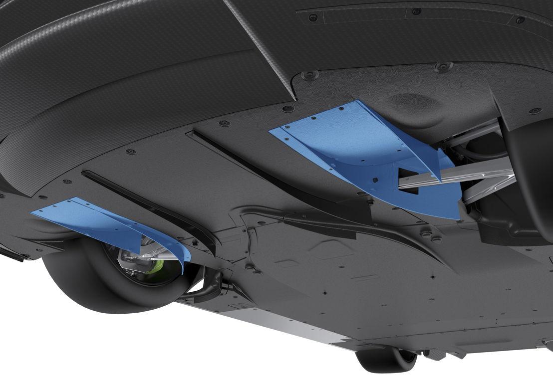 918 Spyder Adjustable front diffuser up