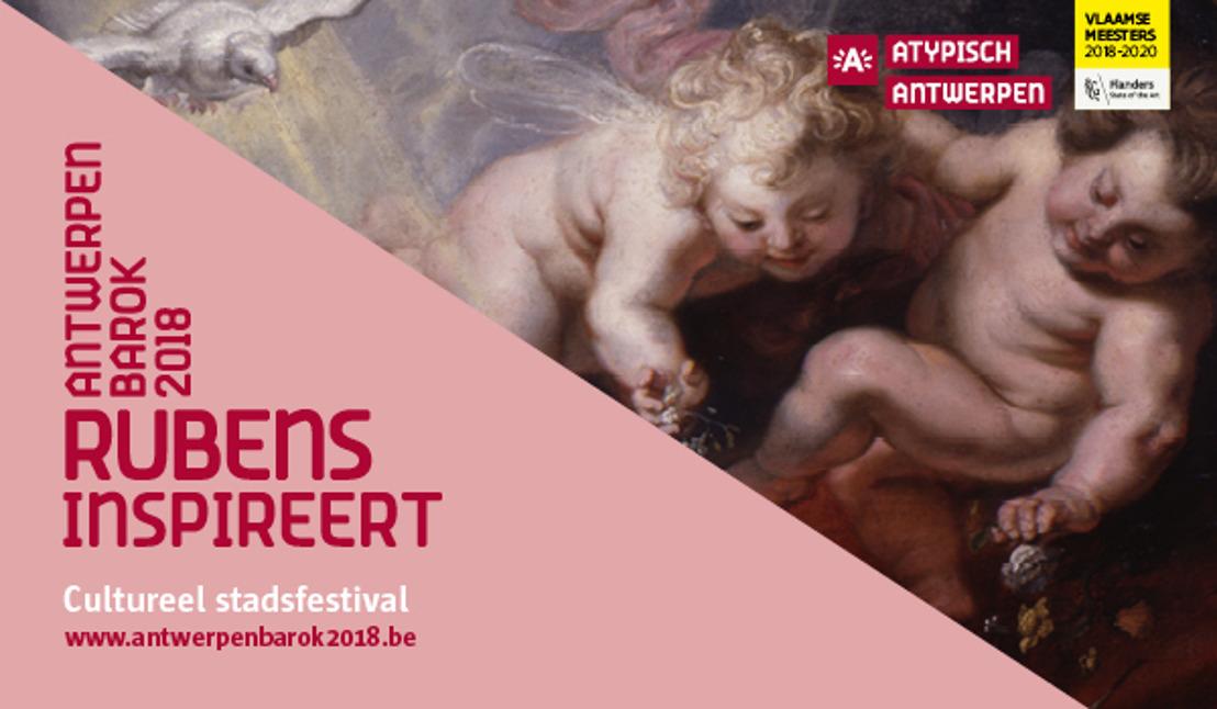 27.07.18 Persnieuwsbrief augustus 'Antwerpen Barok 2018': Zomerexpo's en zomeractiviteiten