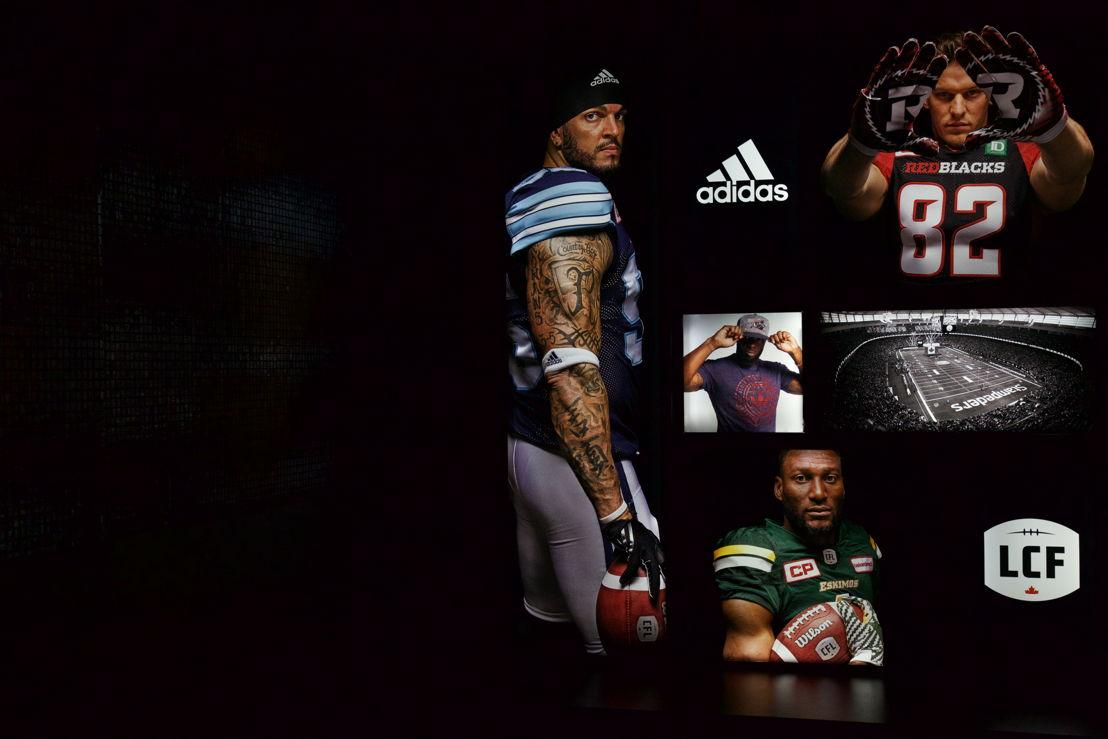 CFL adidas collection. (Photo: Katya Koroscil)