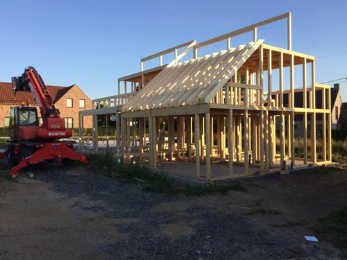 Des maisons complétement construites grâce au Do-it-yourself