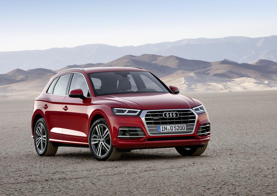 Encore plus sportive et plus polyvalente : Audi Q5 de deuxième génération
