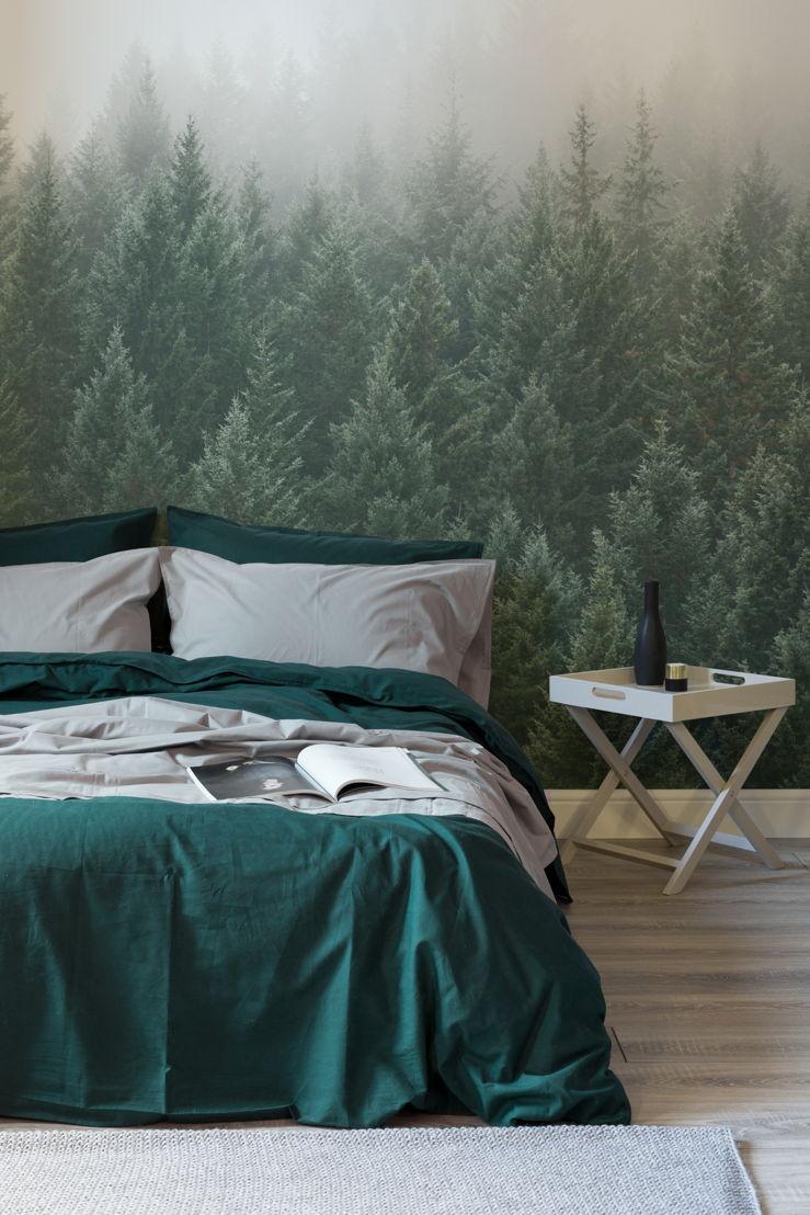 Crisp Pines Forest Wallpaper