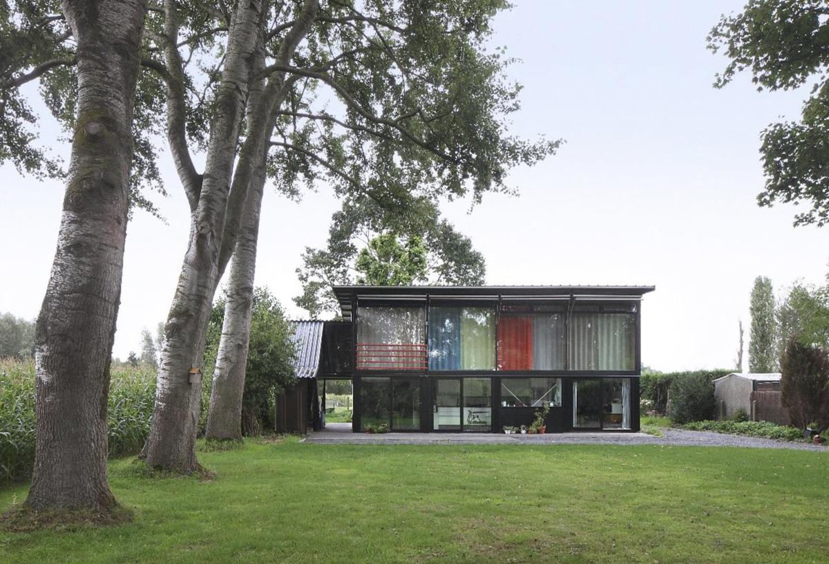 Huis Heyvaert Destelbergen. Photo Filip Dujardin