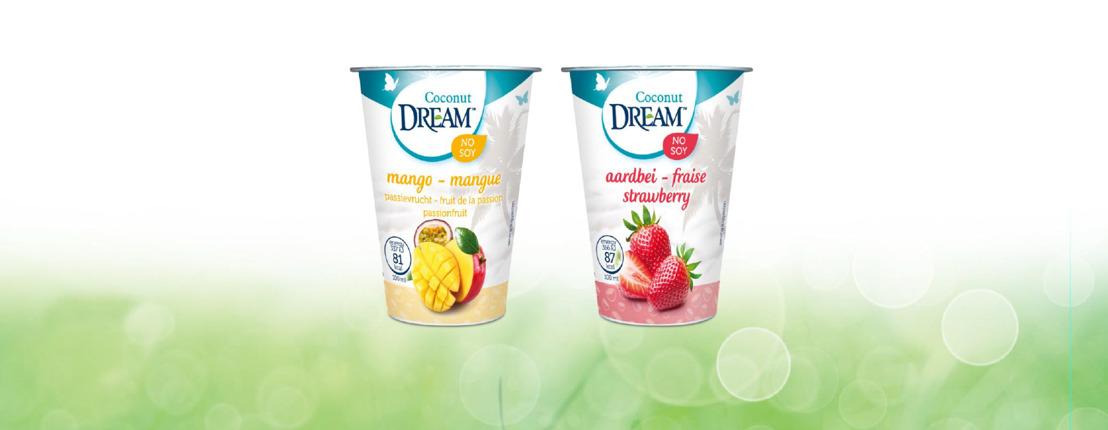 Nieuw :: DREAM lanceert plantaardig alternatief voor yoghurts: Dream Kokosgurts.