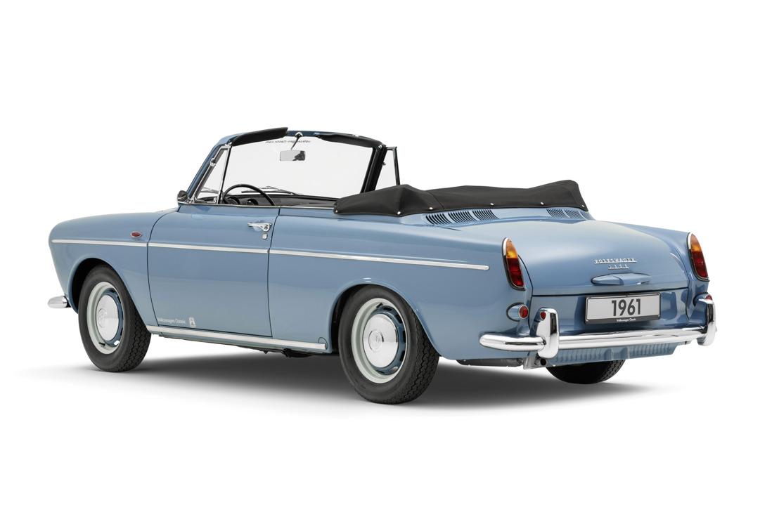 Volkswagen stelt een gerestaureerde Typ3 convertible op het Techno Classica 2018 salon voor (Fotos)