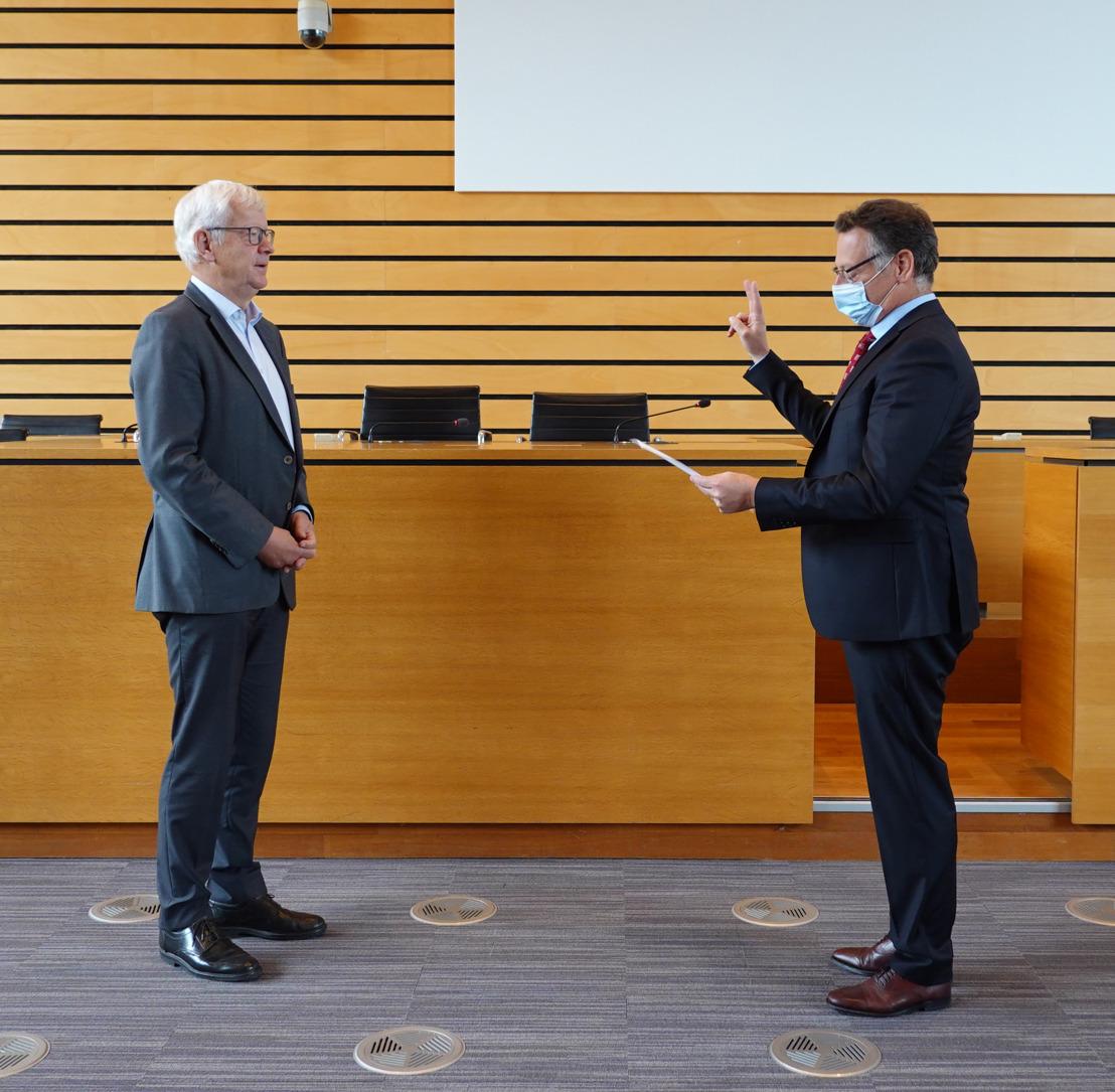 Nieuwe burgemeester Tervuren legt eed af