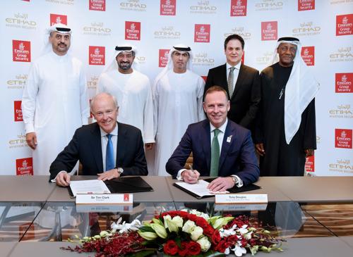 Emirates Group Security and Etihad Aviation Group sign MoU for cooperation in Aviation Security