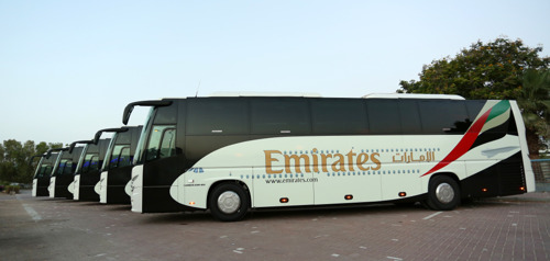 Emirates Upgrades Airport Shuttle Buses to Abu Dhabi and Al Ain