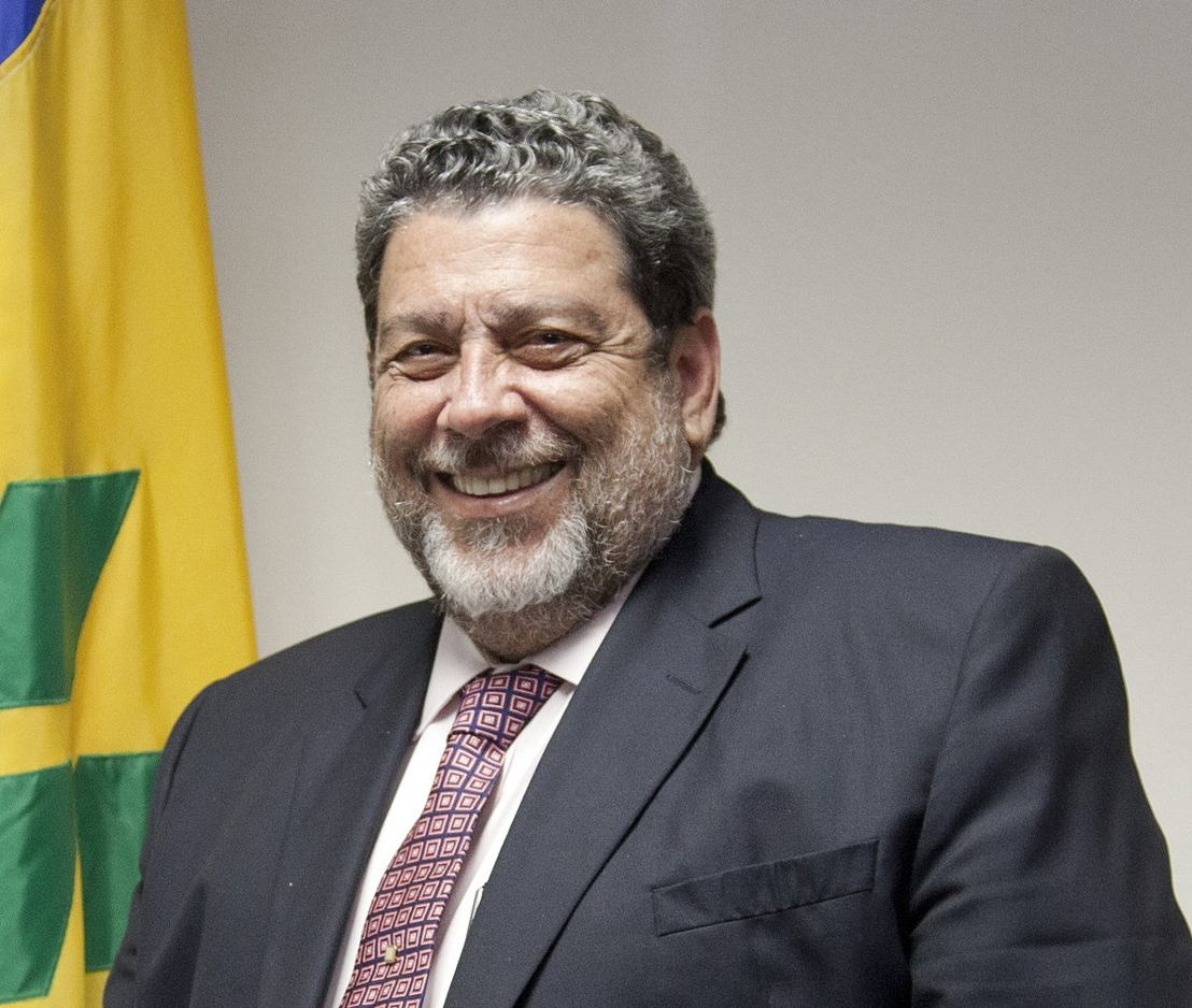 New OECS Chairman and Prime Minister of Saint Vincent and the Grenadines the Hon. Dr. Ralph Gonsalves