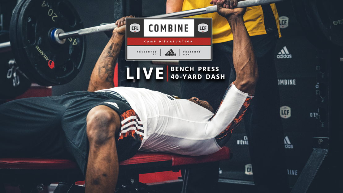 The Bench Press at the CFL Combine presented by adidas took place tonight
