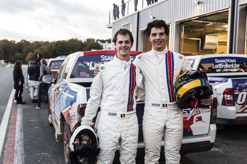 Van de Poele brothers Round#8 Ladbrokes SRX Cup