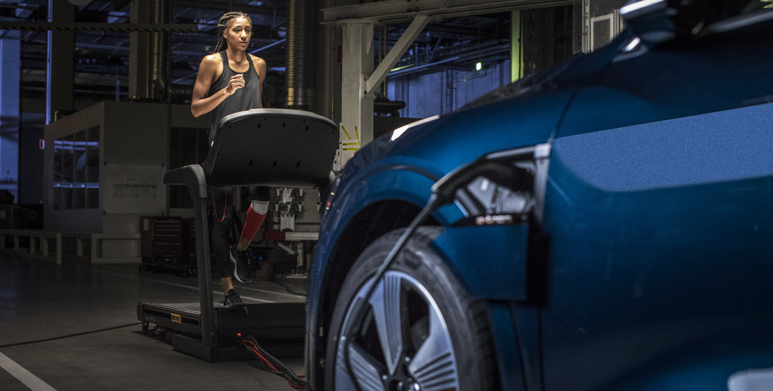 Nafi Thiam powers the Audi e-tron