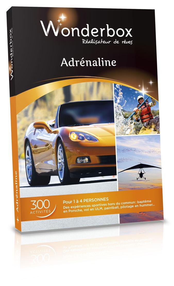 Wonderbox - Adrenaline - 49,90 €