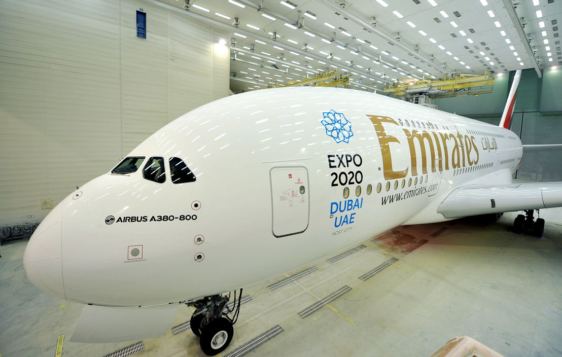 Emirates Aircraft Repainted.