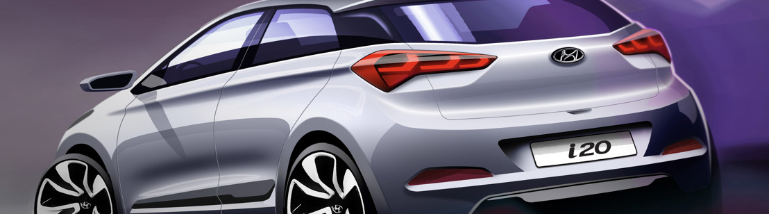 Hyundai geeft designvoorsmaakje van de New Generation i20