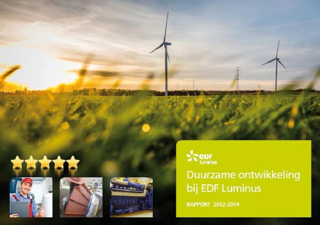 EDF Luminus publiceert zijn derde duurzaamheidsrapport