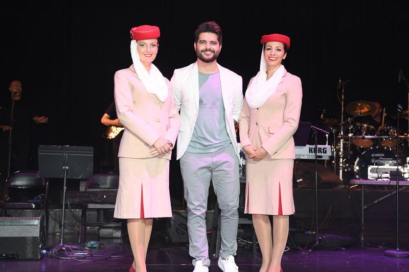 Nassif Zeytoun performs live at the 2017 Stars on Board