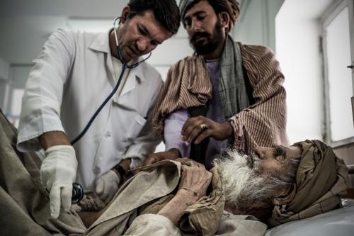"""""""Muchos afganos se tienen que jugar la vida para acceder a los servicios médicos"""""""