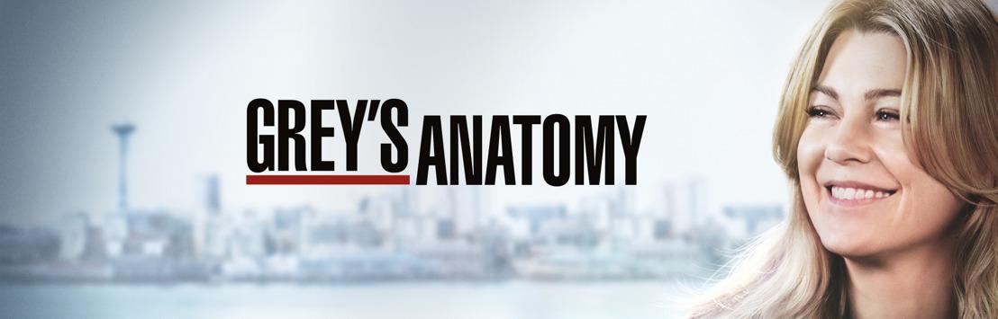 VIJF opent Grey's Anatomy met recordbrekende aflevering