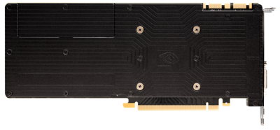 NVIDIA GeForce GTX 980 Rückseite