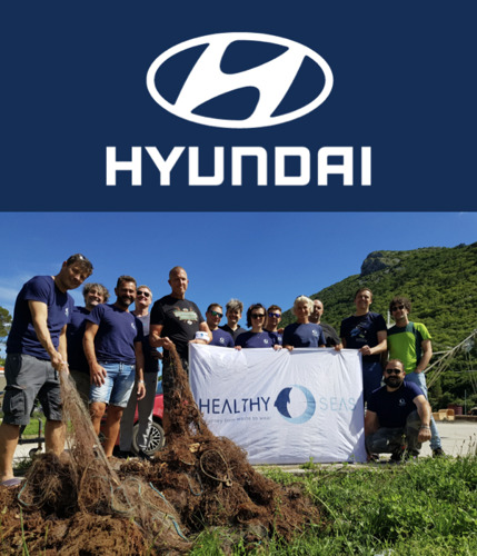 Hyundai Motor se asocia con Healthy Seas para fomentar un futuro sostenible