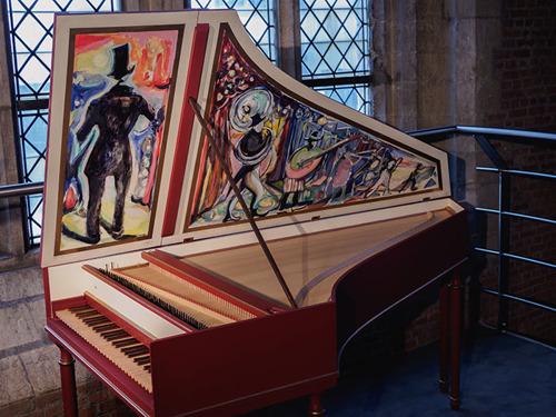 Baroque Orchestration X brengt maatschappelijke zetel onder in Museum Vleeshuis en geeft uniek klavecimbel in bruikleen