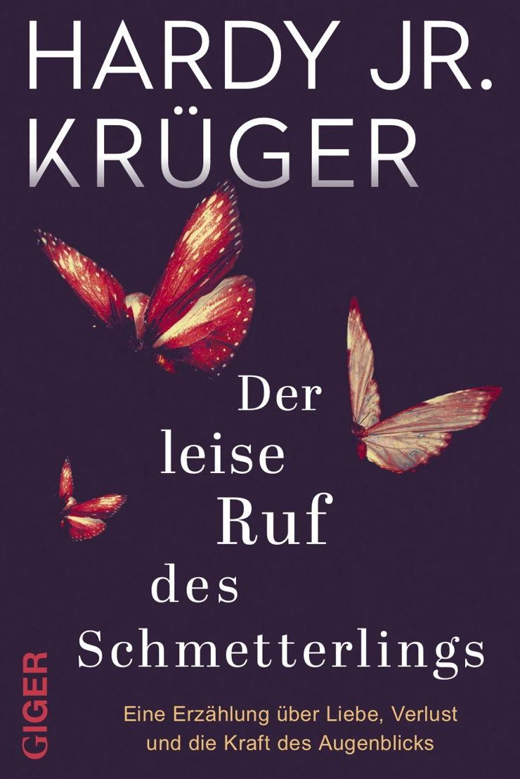 """""""Der leise Ruf des Schmetterlings"""" ist der Debütroman des Schauspielers."""