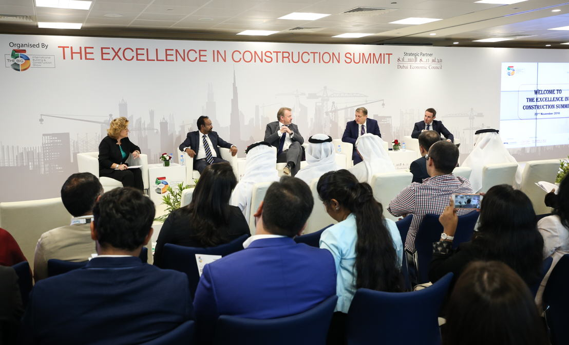 Panel at the Excellence in Construction Summit of The Big 5 2016 in Dubai