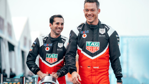 """""""Inside E"""" podcast: A double interview with the TAG Heuer Porsche Formula E drivers"""