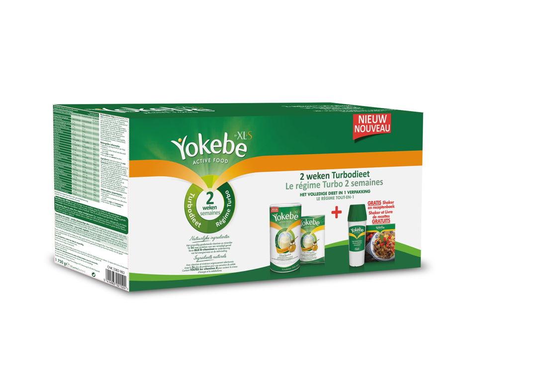 Yokebe '2 weken Turbodieet'-doos --  € 56,95