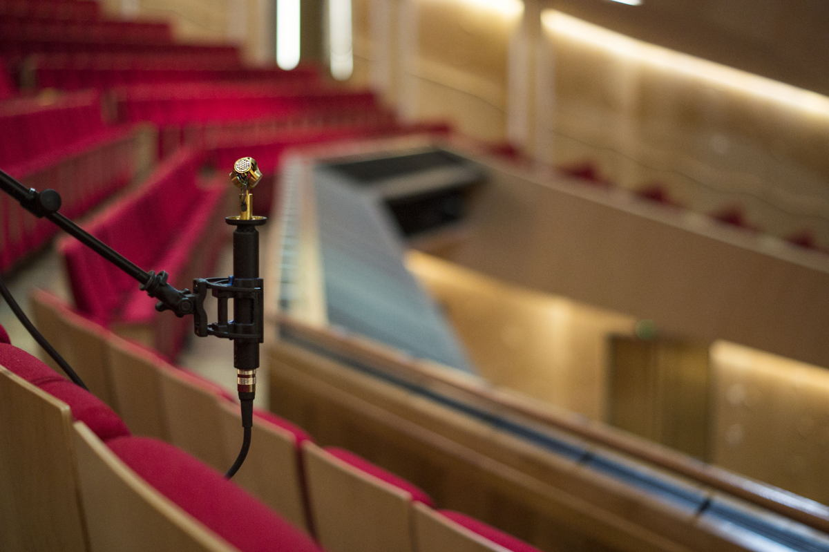 The AMBEO VR Mic, an Ambisonics microphone, is now fully supported by the IRIS room acoustics measurement system