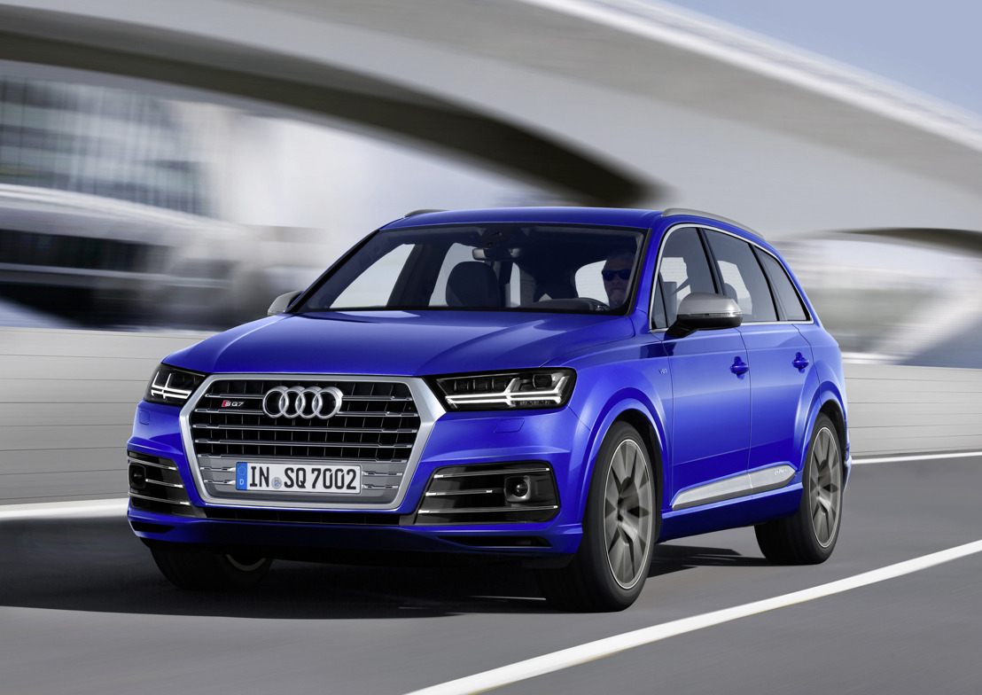 L'Audi SQ7 TDI : à la pointe de l'innovation
