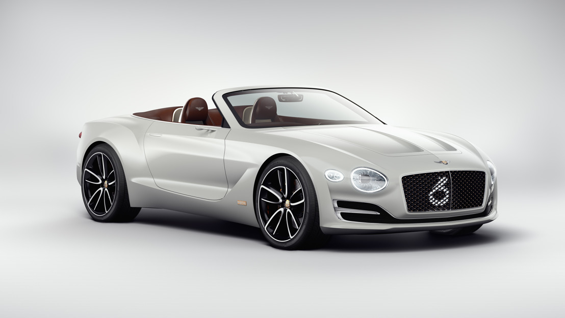 LE CONCEPT-CAR BENTLEY EXP 12 SPEED 6e