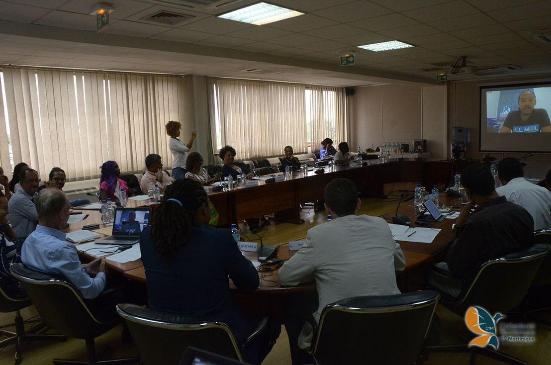 30 Under 30 virtual ceremony in Martinique. © Collectivity of Martinique.