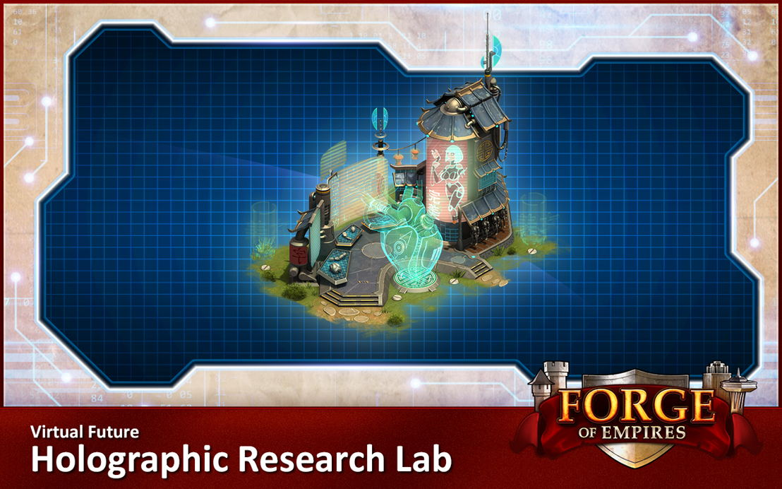 Virtual Future Holographic Research Lab