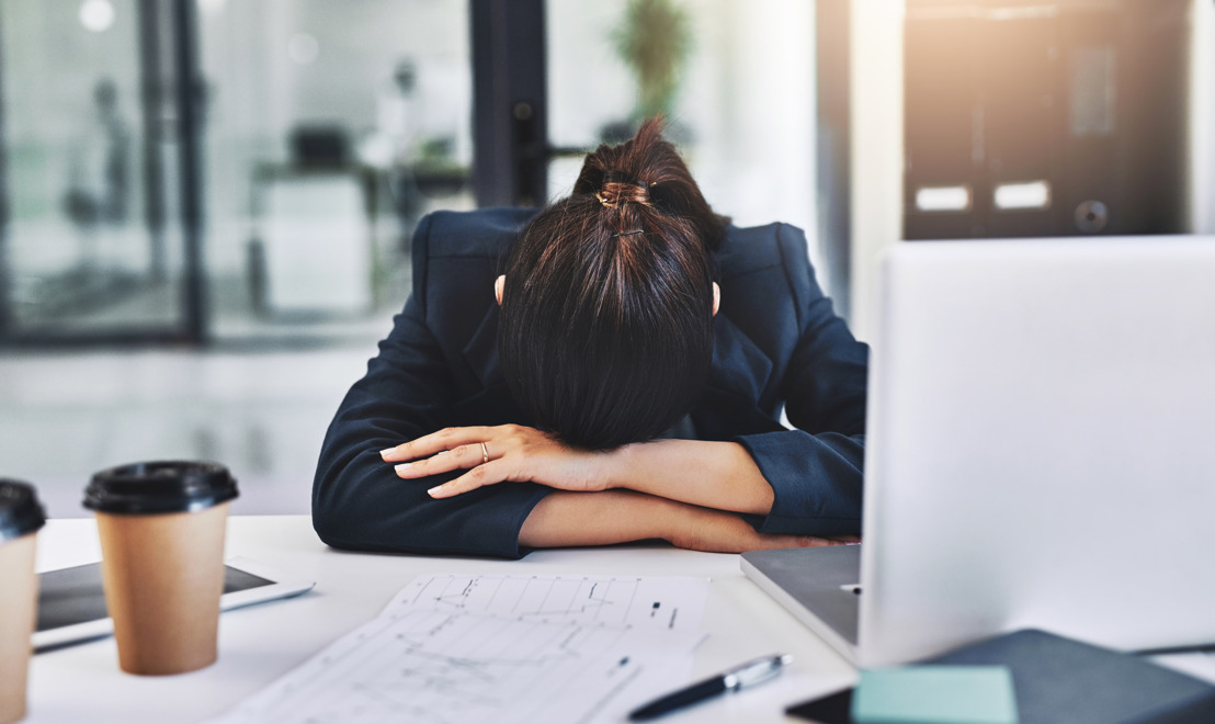 Sleeping at work helps prevent burnout