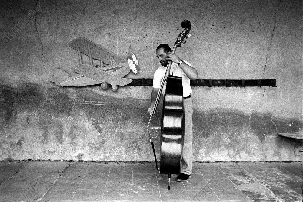 Jazz Pierre Boussaguet (double bassist)<br/>AKG3543068