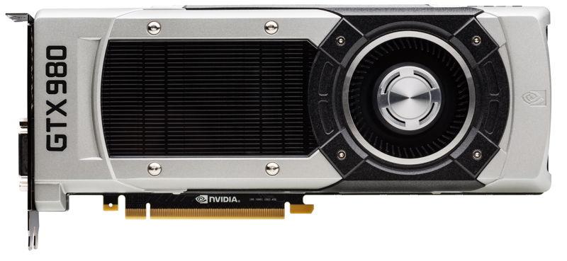 NVIDIA GeForce GTX 980 Front