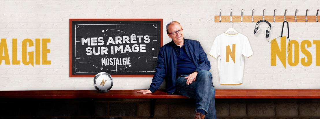 Michel Lecomte rejoint l'équipe de Nostalgie pour l'Euro