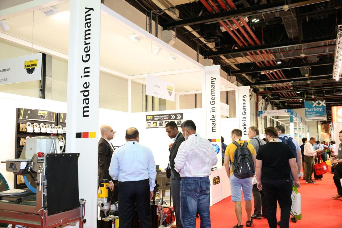 German exhibitors at The Big 5 2017