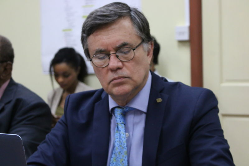 Mr. Manuel Otero, Argentine candidate for Director General of the Inter-American Institute for Cooperation on Agriculture (IICA).