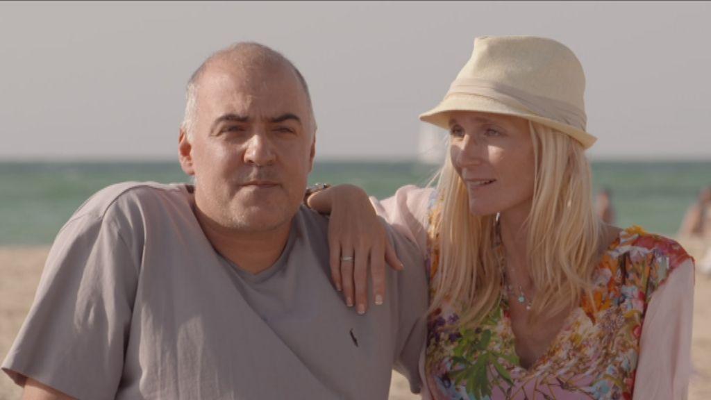 Joe en Nardy in Israël