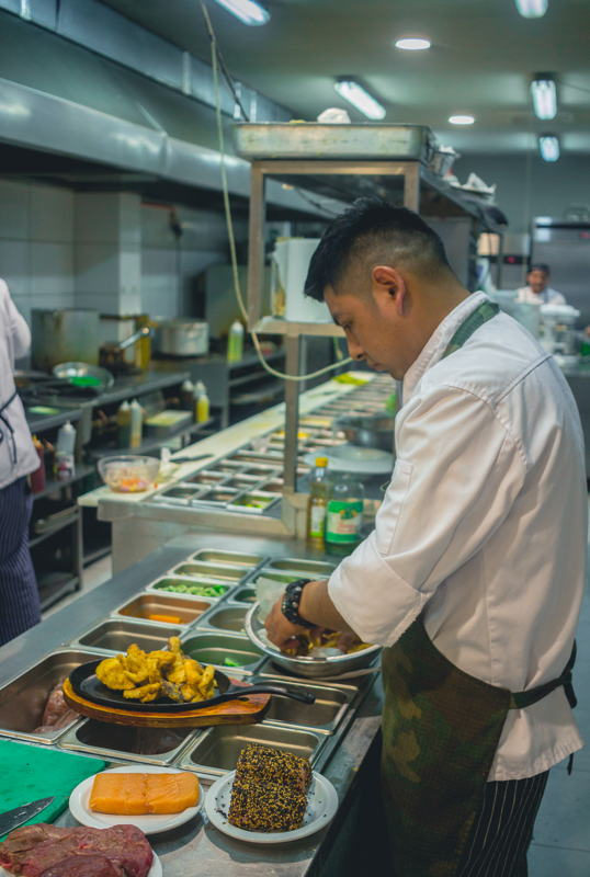 Chef in situ