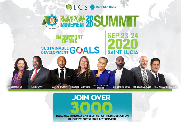 Preview: #SDM2020: The OECS Sustainable Development Movement is almost here!