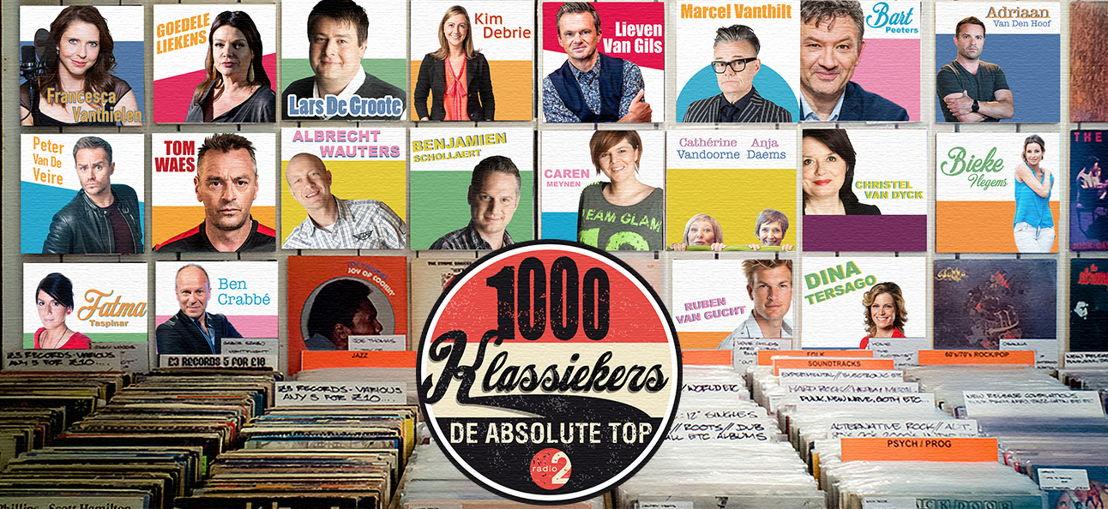 1000 klassiekers- van 26 tot en met 31 december op Radio 2