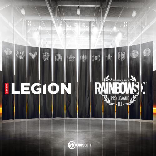 Lenovo Legion™ wordt officiële PC- en monitorsponsor van Tom Clancy's Rainbow Six® Siege Pro League and Majors