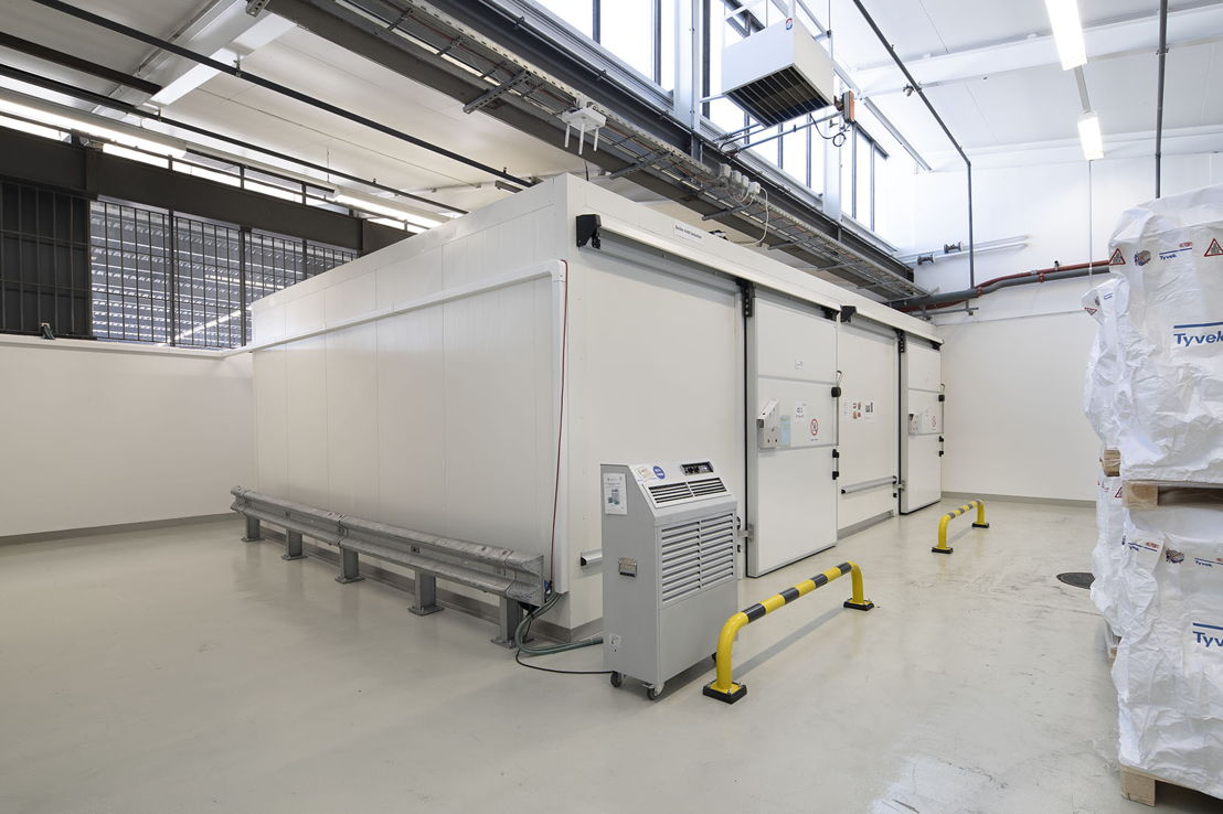 Cold storage at dnata's Zurich facility