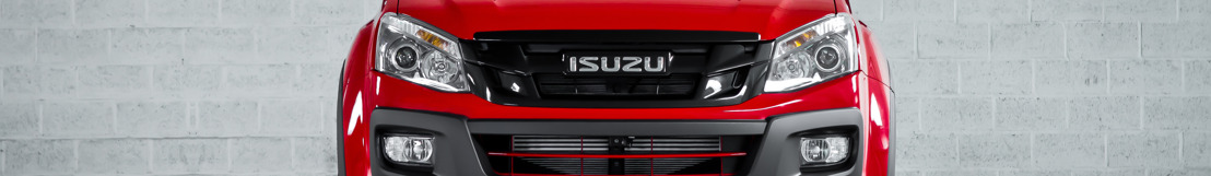 """Isuzu wordt 100 !  D-Max """"Fury"""" Limited Edition viert mee"""