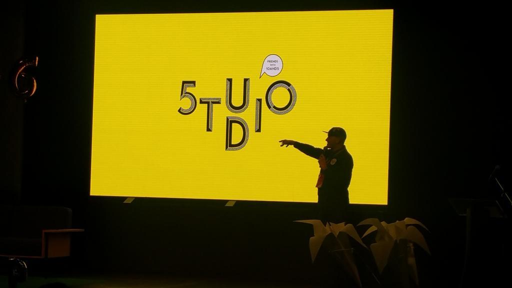 Uno de Waal, MD of 10and5, launches their new branded content agency, 5TUDIO. Image by @mbongomuffin
